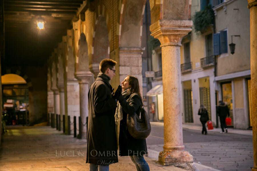 Marion e Roberto , fotografo verona Luci e ombre