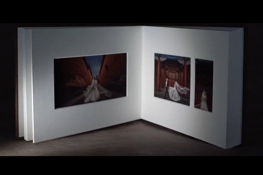 Graphistudio Matted Album , Fotografo Verona Luci e ombre