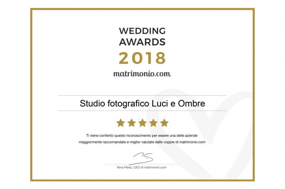 Video Wedding Awards