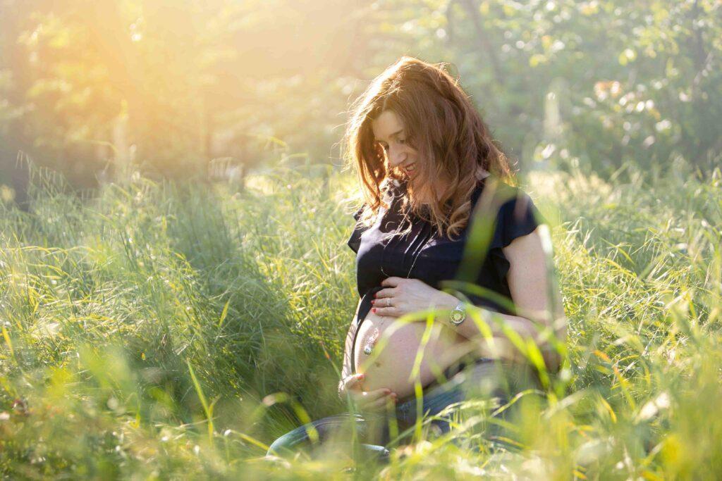 Maternità Luci e ombre photography